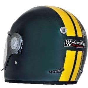 Helm -VESPA Integralhelm- Racing Sixties- grün gelb- M (57-58 cm) 607527M03GN