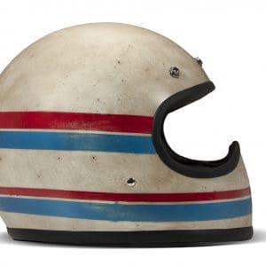 Helm -DMD Handmade- Motocrosshelm, vintage – Line – M (57-58cm) DMD109M