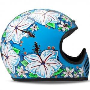 Helm -DMD Seventyfive- Motocrosshelm, vintage – Aloha – L (59-60cm) DMD112L