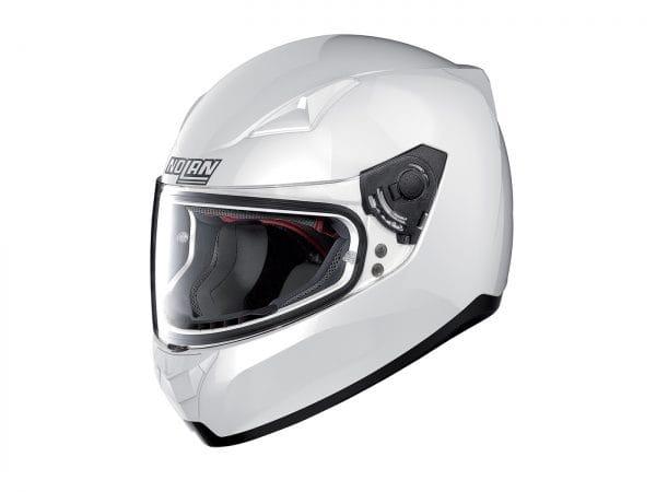 Helm -NOLAN, N60-5 Classic- Integralhelm, weiß metallic – XXL (63cm) NL3103005XXL