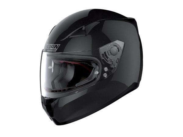 Helm -NOLAN, N60-5 Special- Integralhelm, schwarz metallic – S (56cm) NL502012S