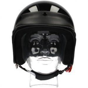Helm -NEW MAX, Elegance Jethelm- schwarz glänzend – XS (53-54 cm) NM300110XS