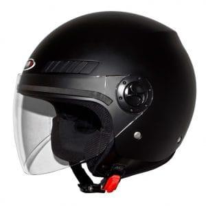 Helm -SHIRO SH62 GS, Jet-Helm- schwarz matt – M (57-58 cm) SI062020M