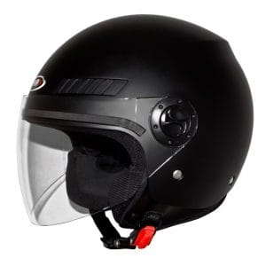 Helm -SHIRO SH62 GS, Jet-Helm- schwarz matt – XXS (51-52 cm) SI062020XXS
