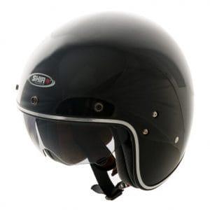 Helm -SHIRO SH235, Jet-Helm- schwarz – M (57-58 cm) SI235010M