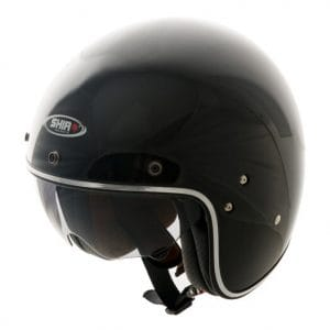 Helm -SHIRO SH235, Jet-Helm- schwarz – XS (53-54 cm) SI235010XS