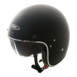 Helm -SHIRO SH235, Jet-Helm- schwarz matt – L (59-60 cm) SI235020L