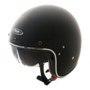 Helm -SHIRO SH235, Jet-Helm- schwarz matt – S (55-56 cm) SI235020S
