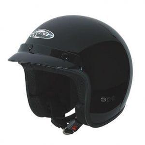 Helm -SPEEDS Jet Classic – schwarz glänzend – XL (61-62 cm) SPH8114XL